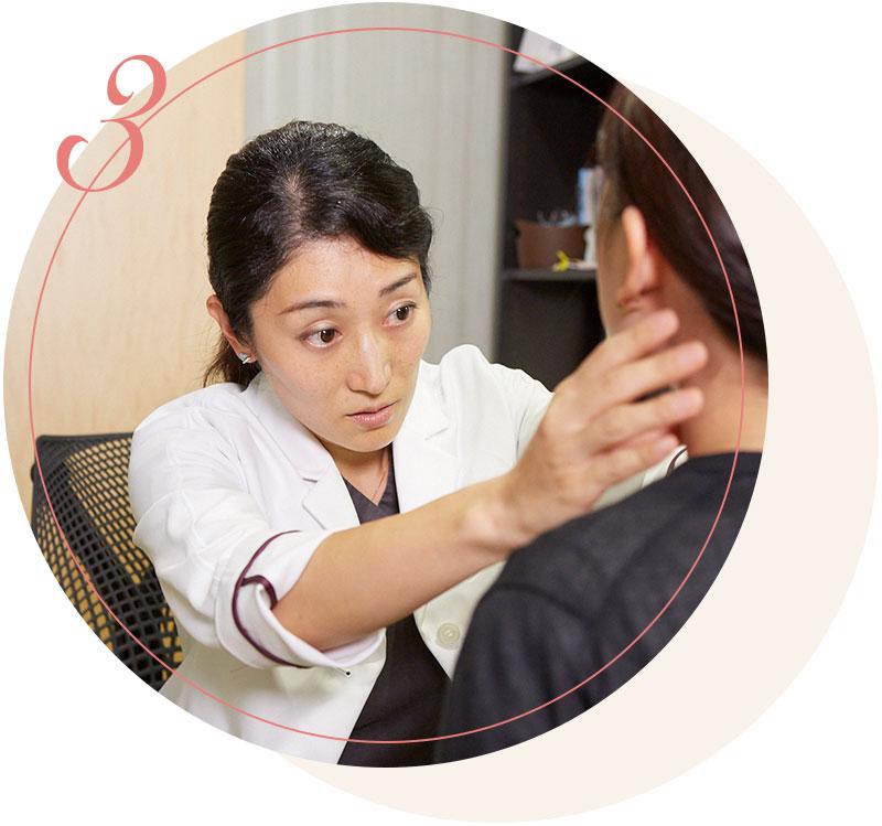 形成外科医を軸とした専任美容チームがエビデンスに基づいた美容医療を提供